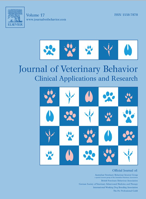 Journal of Veterinary Behavior: Clinical Applications and Research